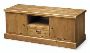 Thorganby Solid Walnut Low Unit